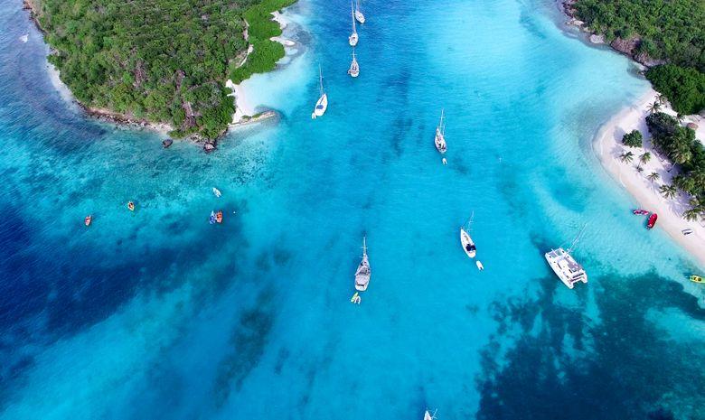 Croisière cabine aux Grenadines - voilier 55'