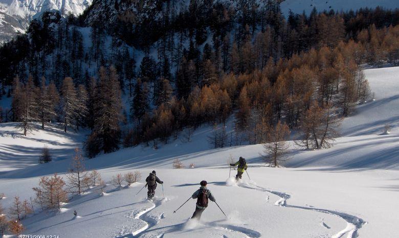 Initiation au ski de randonnée dans les écrins-6