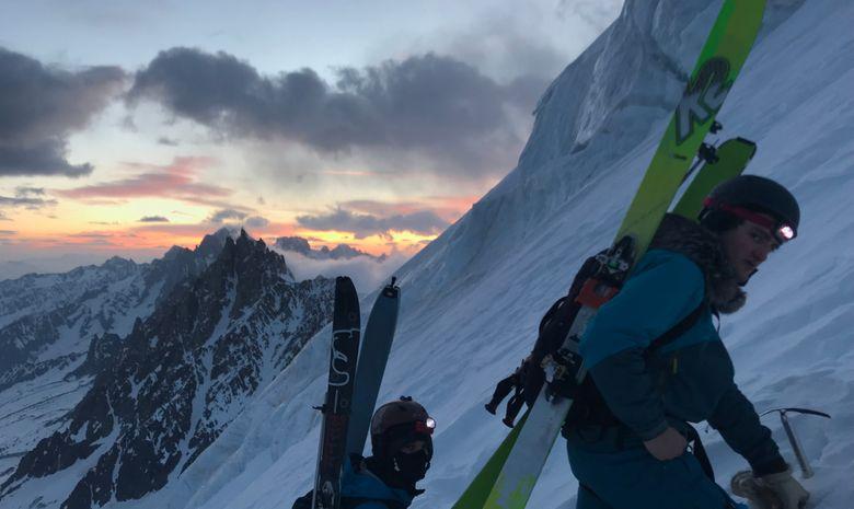 Mont Blanc à ski