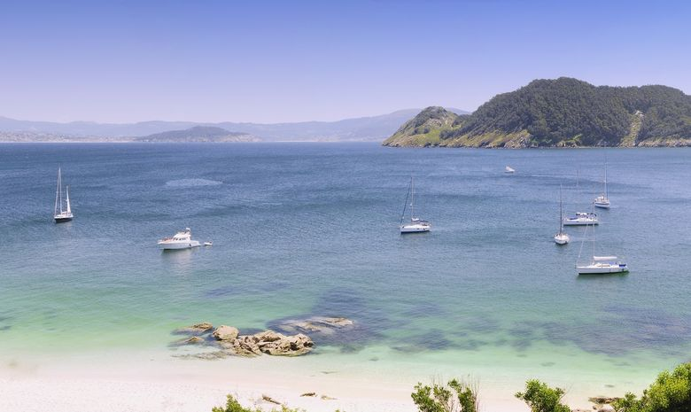 Coastal sail training Rias de Galice