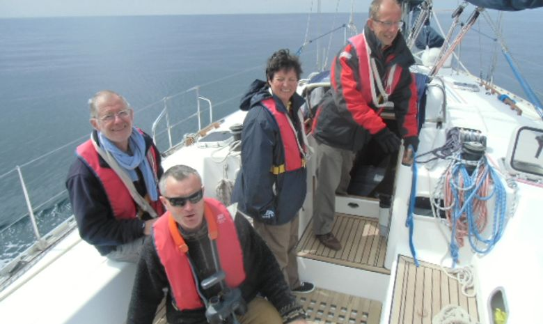 Coastal sail training Bretagne Nord & Anglos