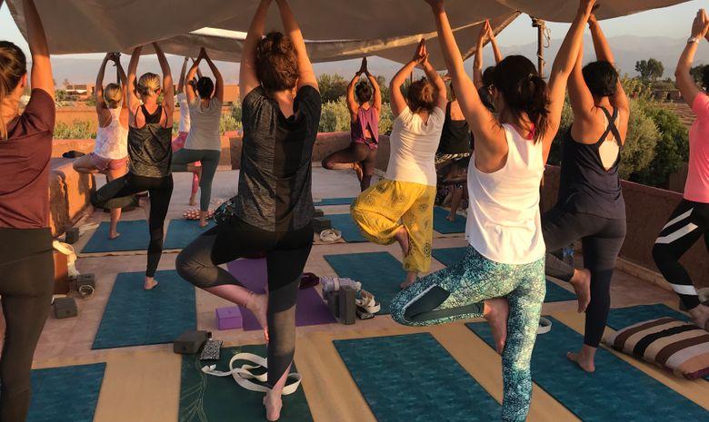 Retraite Yoga & Jeûne Detox Marrakech