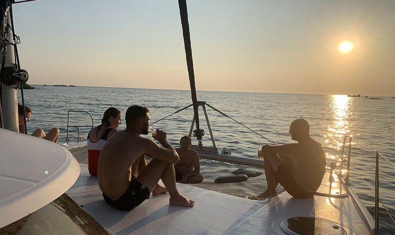 Croisière privée Corse & Sardaigne - catamaran 40'