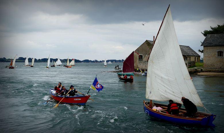 Exclusif : croisière parade du Golfe du Morbihan