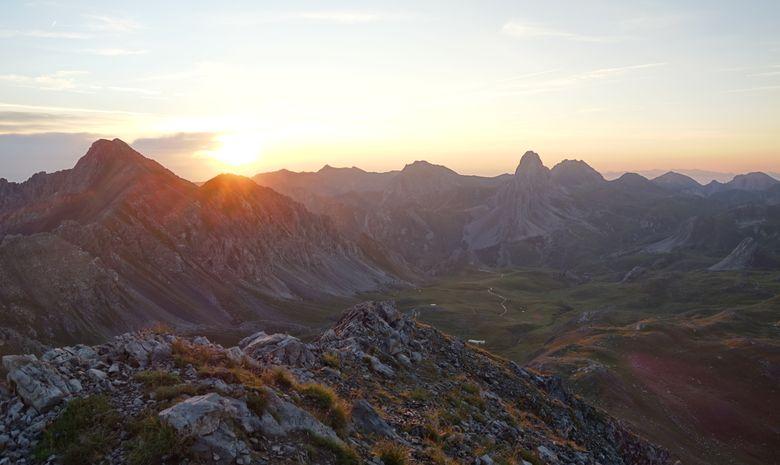 Randonnée entre haute Ubaye et Val Maïra