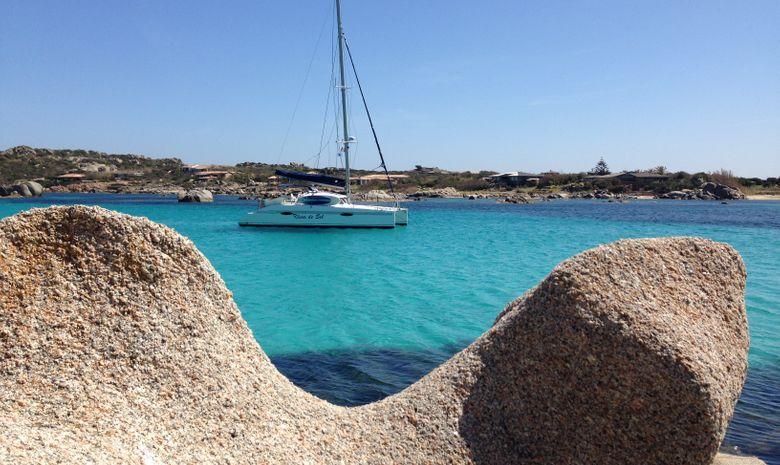 Week-end en catamaran dans le sud de la Corse