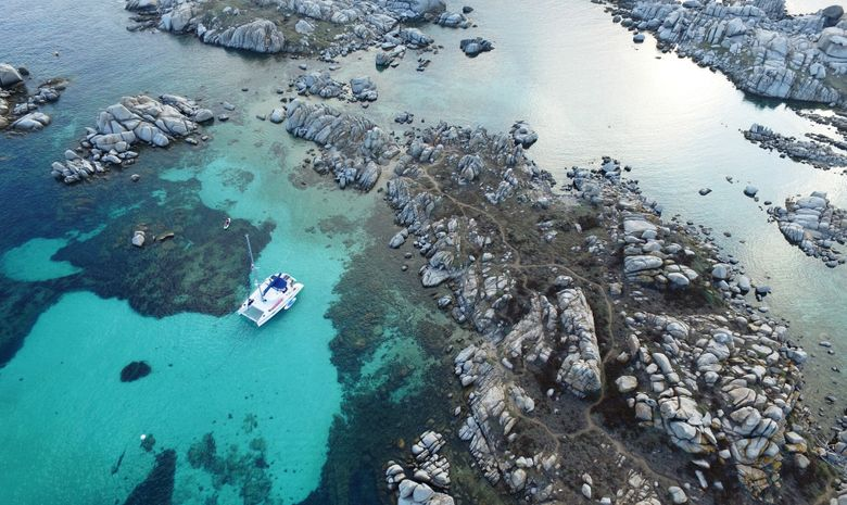 2 ou 3 jours en catamaran dans le sud de la Corse