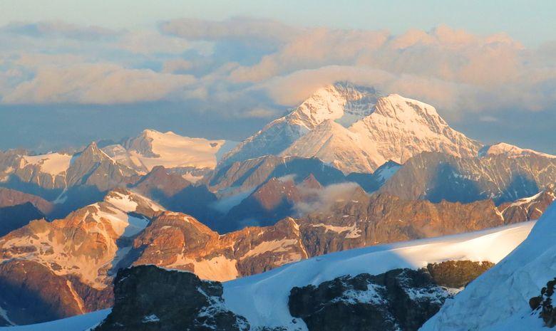 Ascension du Castor depuis l'Italie (4223 m)-5