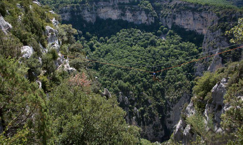 Via cordata dans les gorges du Verdon-2