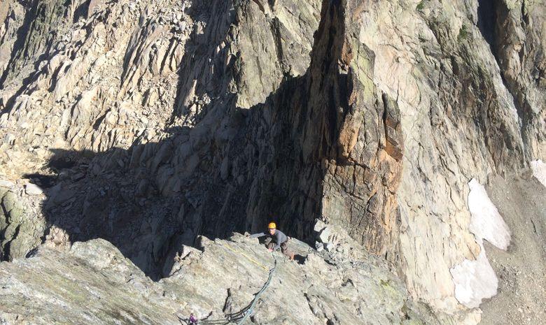 Granit à l'Aiguille Dibona-1