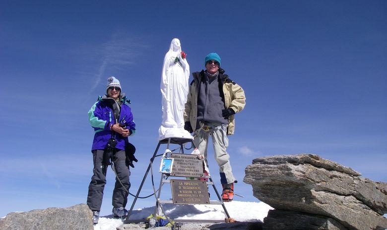 Ascension du Grand Paradis en ski de randonnée-2