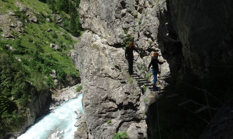 Via Ferrata de Saint-Christophe en Oisans-2