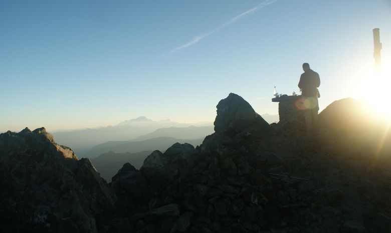 Lever et coucher de soleil en Vanoise