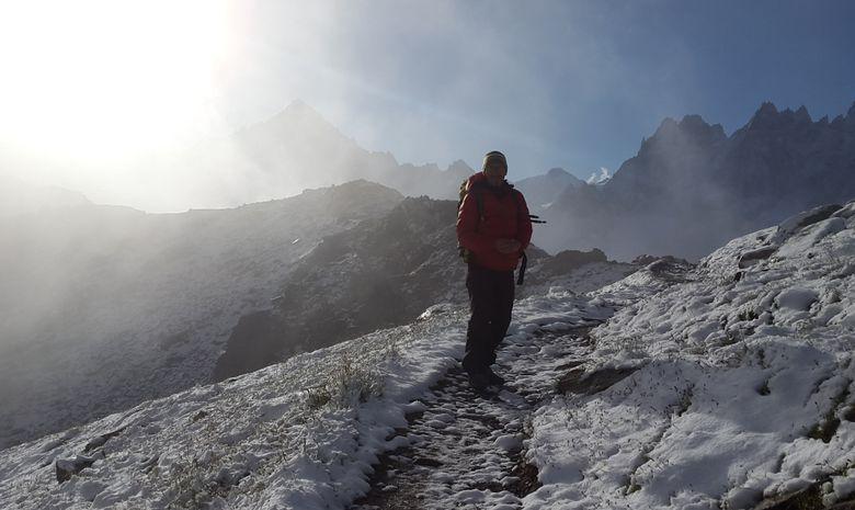 Un W.E. face au Mont Blanc