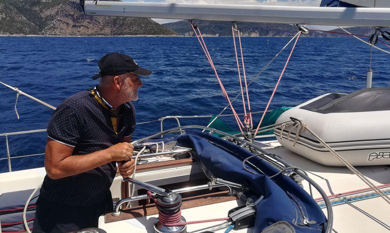 Croisière privée Îles Ioniennes - voilier 50'