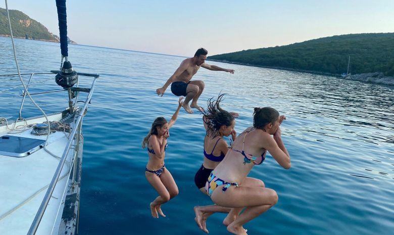 Croisière privée voilier îles Ioniennes - Preveza