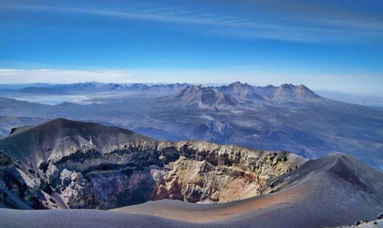 Trek Salkantay et ascension du volcan Misti