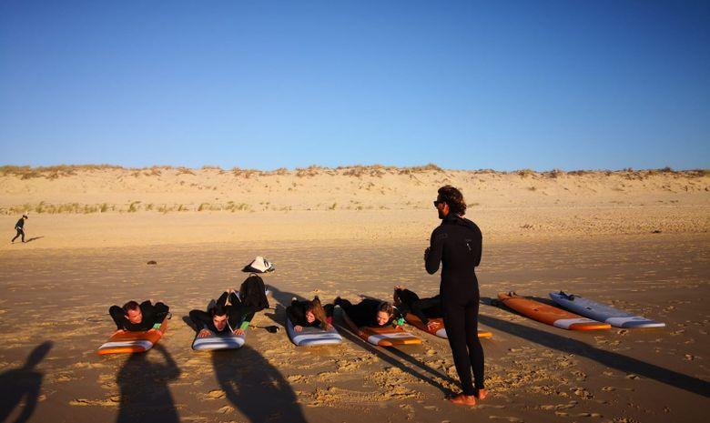 Surfcamp en villa à Lacanau