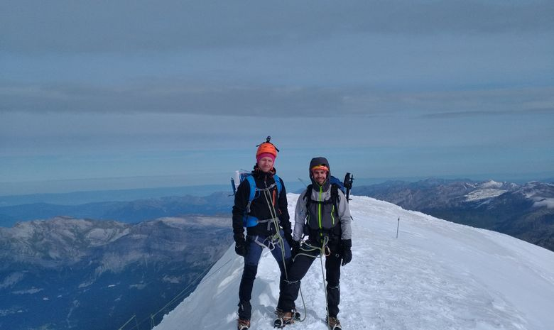Ascension du Grand Paradis & Mont Blanc