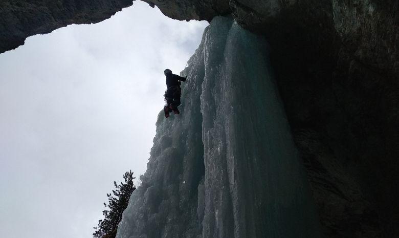stage cascade de glace initiation
