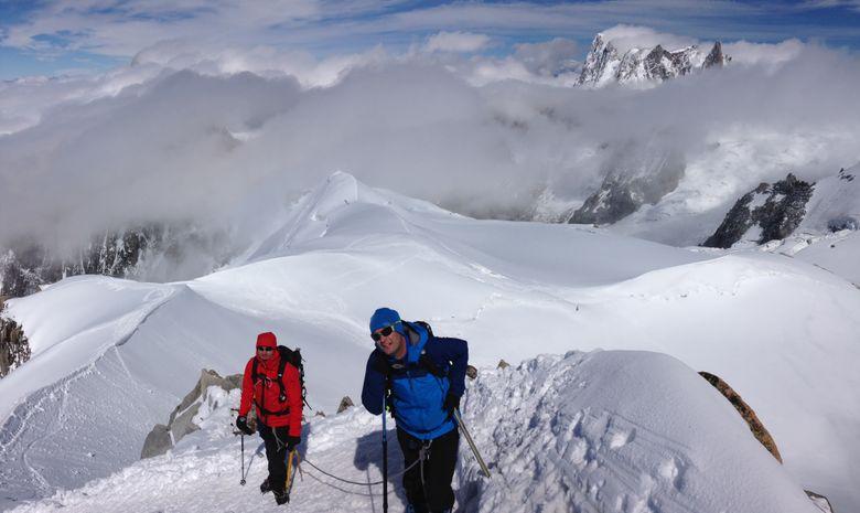 Ascension du Mont-Blanc en 4 jours