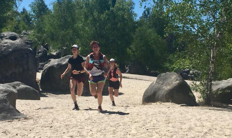 Running en forêt de Fontainebleau