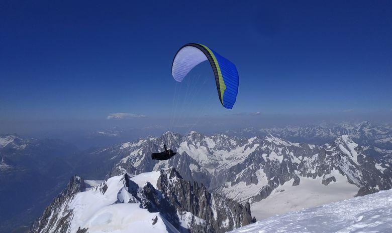 Ascension du Mont Blanc + vol en parapente