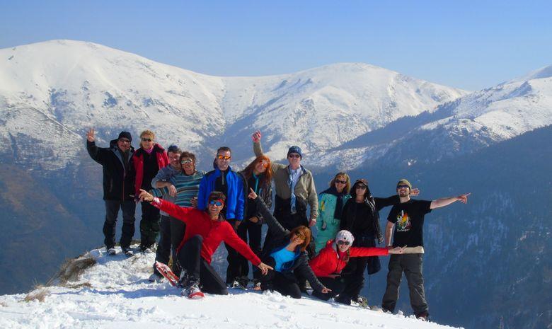 Découverte des Pyrénées Ariégeoises en raquettes-8