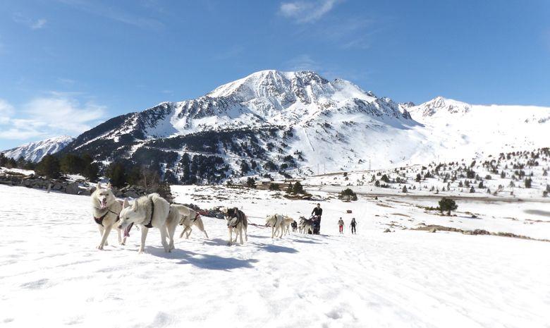 Séjour raquettes & chiens de traîneaux en Ariège-11