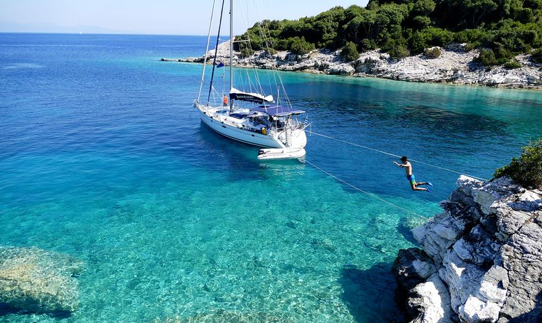 Croisière voilier dans les îles Ioniennes - Corfou
