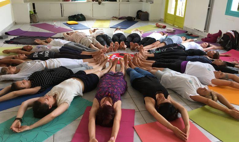 Stage d'été de yoga et randonnée