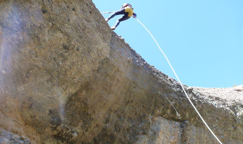 Rappel en Sierra de Guara - Barranco Fondo