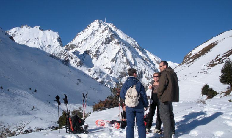 Séjour en raquettes  dans les Pyrénées espagnoles-2