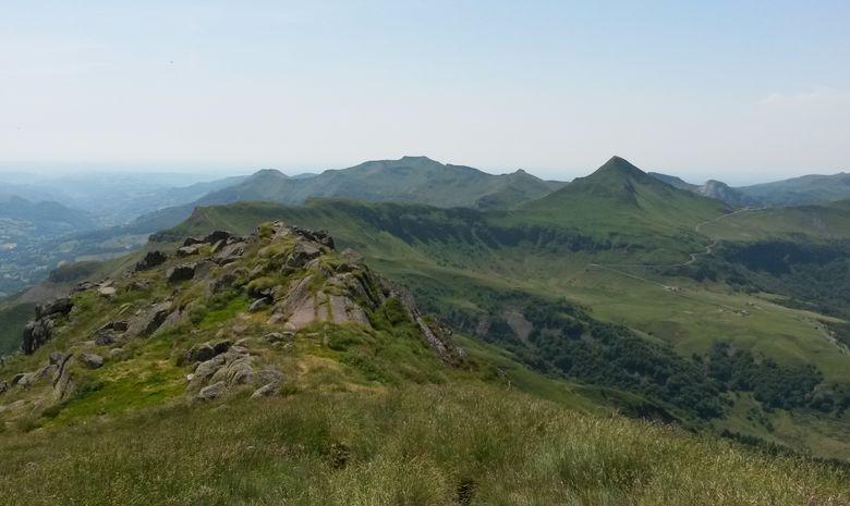 Le plus grand stratovolcan d'Europe dans le Cantal