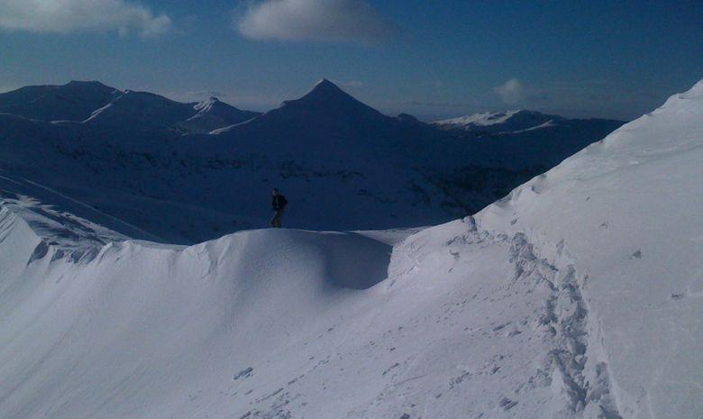we ski de randonnée auvergne -1