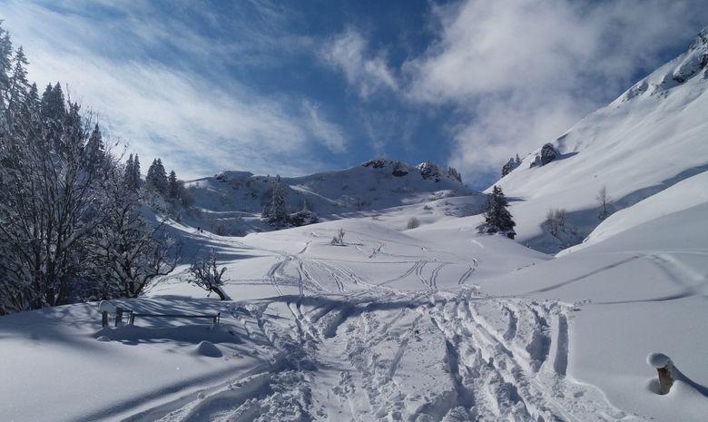 Weekend initiation au ski de randonnée à Morzine-9