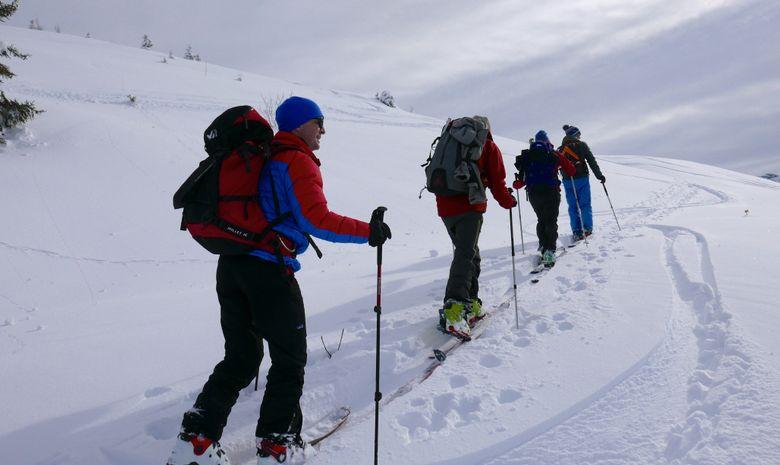 Weekend initiation au ski de randonnée à Morzine-11