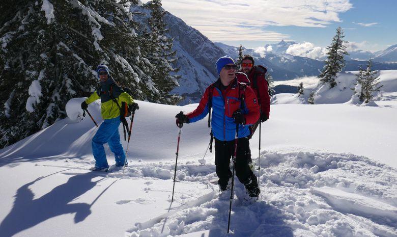 Weekend initiation au ski de randonnée à Morzine-13