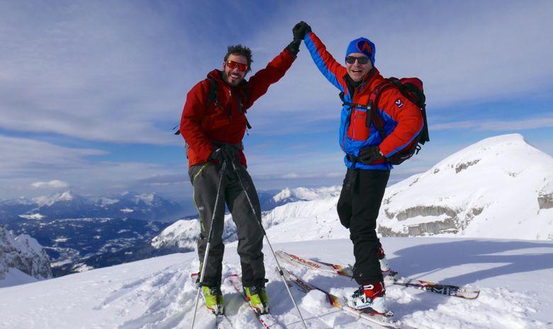 Weekend initiation au ski de randonnée à Morzine-12