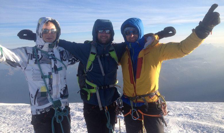 Ascension du Mont Blanc -4