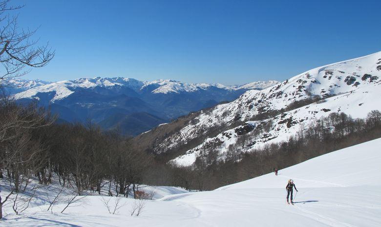 Journée ski de randonnée autour d'Ax-les-Thermes-1