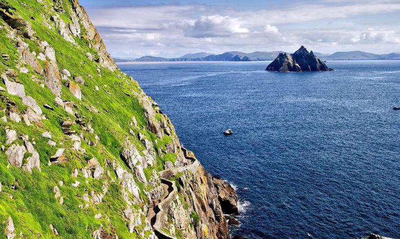 Croisière voile vers l'Irlande