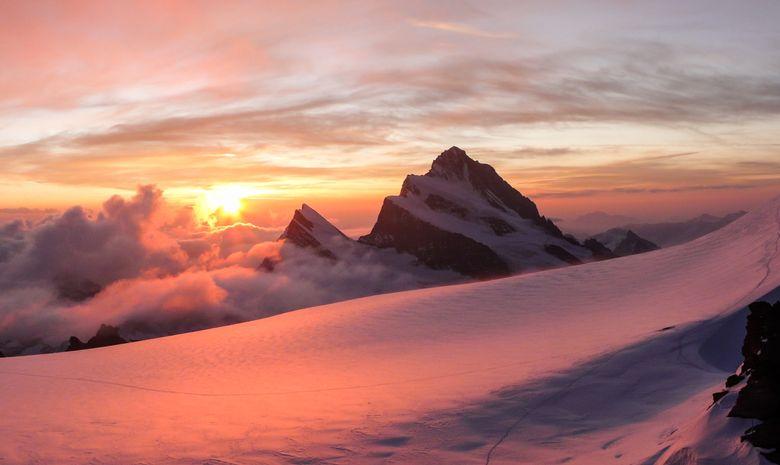 Traversée courte des 4000 mètres du Mont Rose