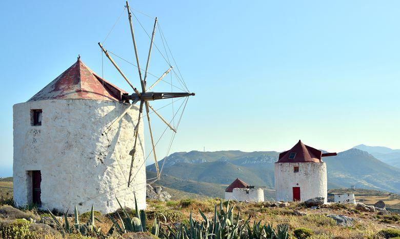 Croisière cabine dans les Cyclades - voilier 44'