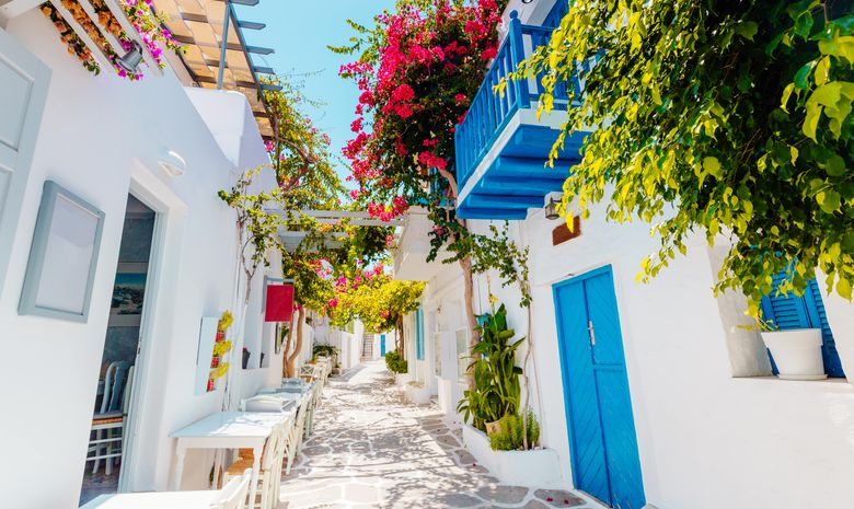 Croisière privée dans les Cyclades - voilier 44'