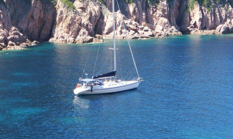 Croisière stage Corse & Sardaigne - voilier 52'