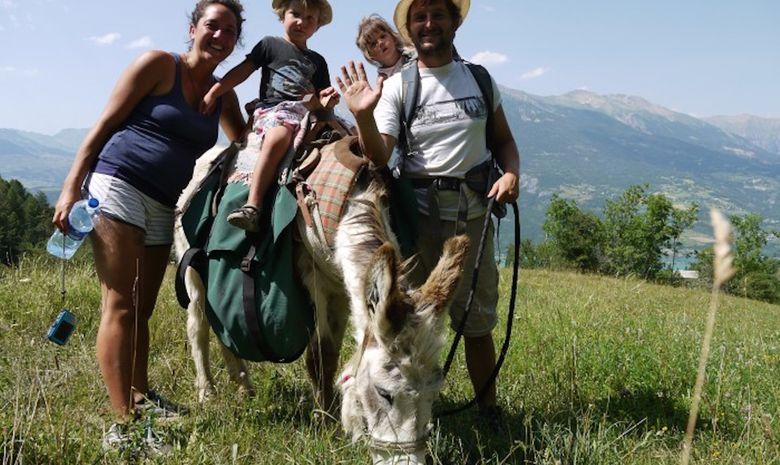 Journée de randonnée à dos d'âne-3