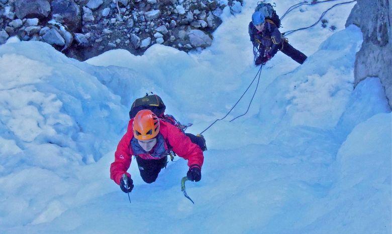 Week-end de cascade de glace  - Hautes-Alpes-1