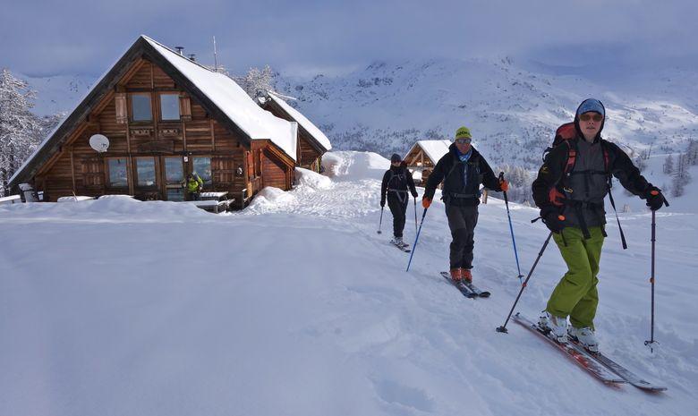 Initiation au ski de randonnée dans les Cerces-3
