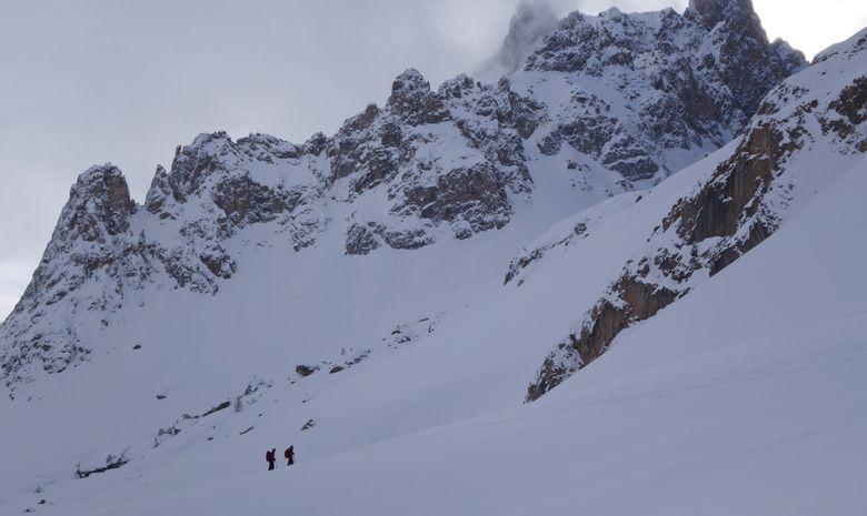 Initiation au ski de randonnée dans les Cerces-7